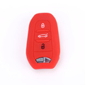 Silicone Peugeot swift mota key rufe fob case
