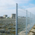PVC Spray coated diamond curved wire mesh