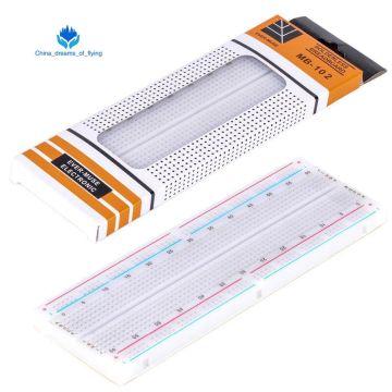 TZT 1pcs Breadboard 830 Point PCB Board MB-102 MB102 Test Develop DIY kit nodemcu raspberri pi 2 lcd High Frequency