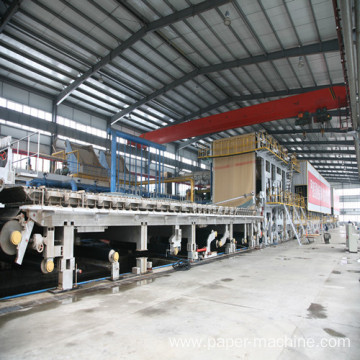 Recycled Paper Making Machine For Kraft Paper