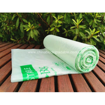 100% Biodegradable  Compostable Waste Plastic Bags