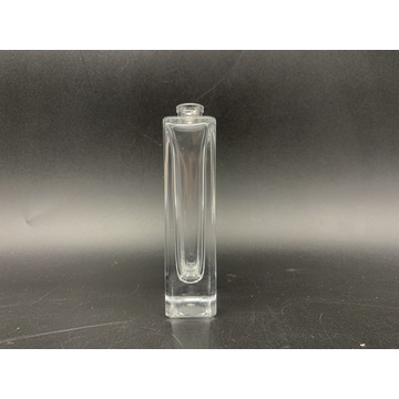 30ml tallsquare bottle of clear glass perfume bottle