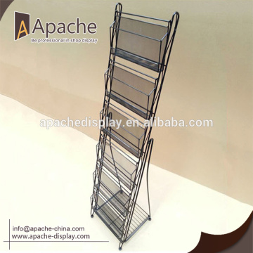 Wholesale different design newspaper display stand for Promotion