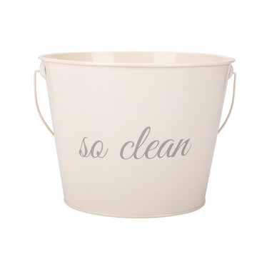 Cream White Color Coated Water Pail