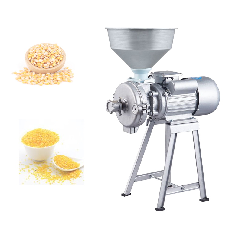 Peanut Butter Machine Wet And Dry Refiner Commercial Grain Bean Mill, Used For Tofu Sesame Paste Chili Sauce Corn Fiour Etc.