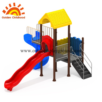 outdoor play equipment with slide on sale