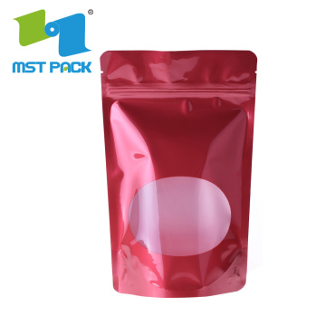 Custom Resealable Food Packaging Standing Foil Bag