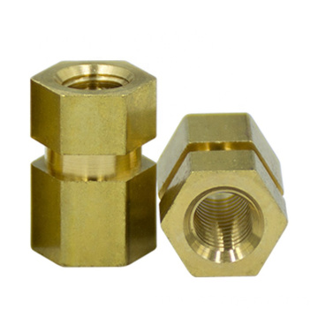 Cold Forming Insert Threading hex head Brass Nut