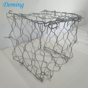 Woven Gabion Basket Fence for Retaining River Bank
