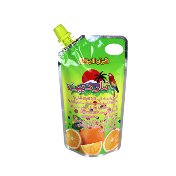 Printed Stand Up Pouch with Spout