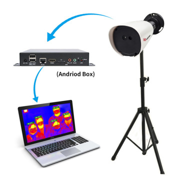 Thermographic Camera for COVID-19 with Voice Alarm