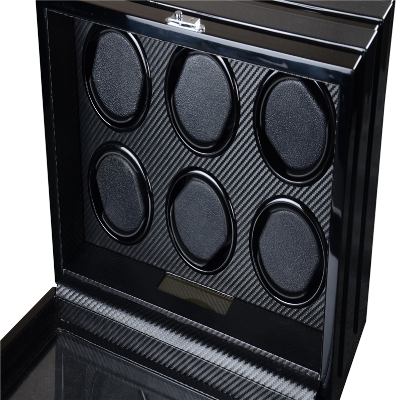 Rotary watch winder boxrotary watch winder box