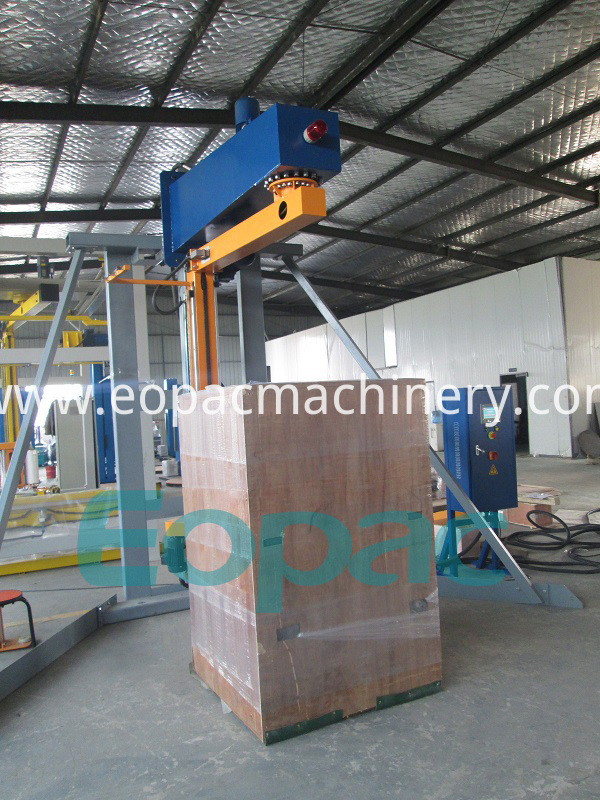Over Arm Stretch Wrapping Machine