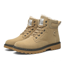 Mens Snow Ankle Winter Martin Boots