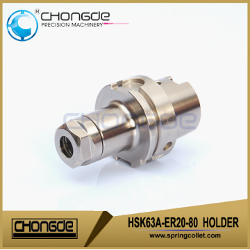 HSK63A-ER20-80 Ultra accuracy CNC Machine Tool Holder