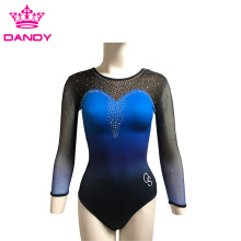 Oanpaste Ombre Fancy Gymnastyk Leotards