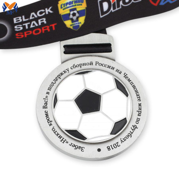 Custom football metal medallions shop