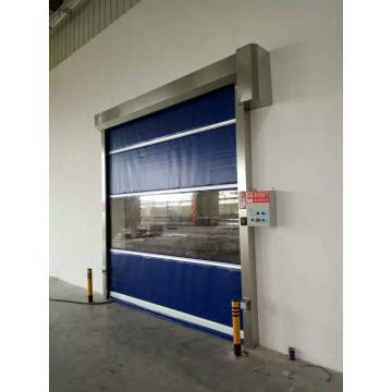 Industrial PVC Roll up high speed door