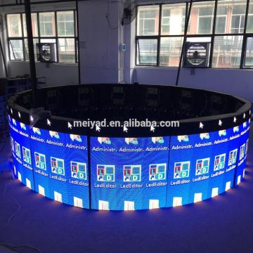 Patented Indoor P4 SMD LED Flexible Display Screen