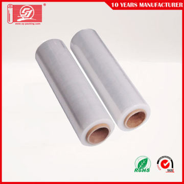 Transparent LLDPE Hand Roll Stretch Film