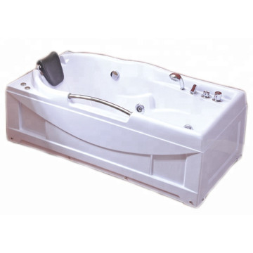 Indoor Tub in Bath with Pneumatic Controller