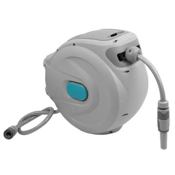 mini retractable water hose reel with hose