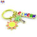 Souvenir gift metal keychain for promotional