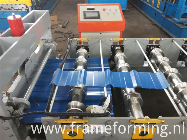 metal roof panel standing seam roll forming machine )
