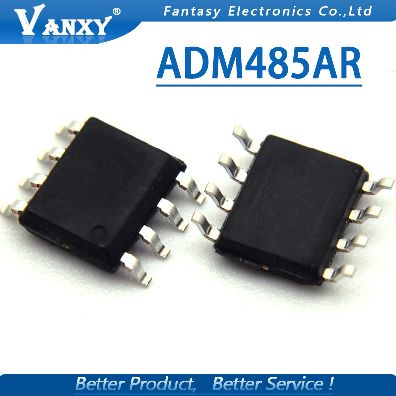 10pcs ADM485 SOP-8 ADM485AR SOP ADM485ARZ SOP8 Transceiver interface chip