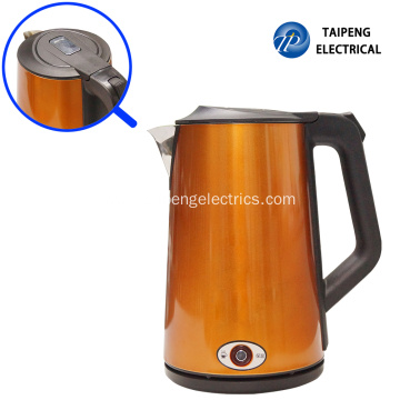 Large stainless steel kettle