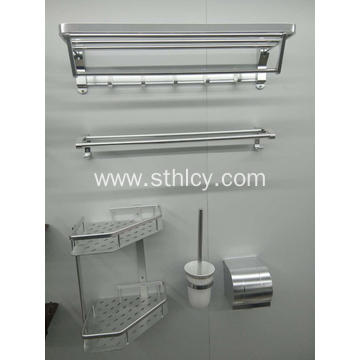 Stainless Steel Towel Rack Shelf Multi-function Folding