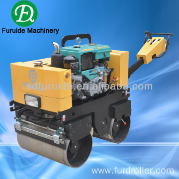 FYL-800S double drum manual vibrating roller with water-cooled engine