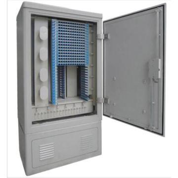 FTTH 96 Core SC  LC Fibers Optic Telecom Cabinet
