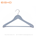 EISHO Large Grey Wood Suit Coat Hanger