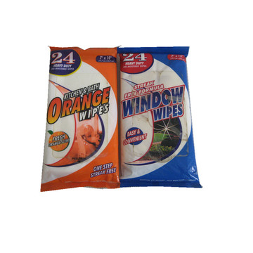Disposable Biodegradable Disinfectant Wet Wipes