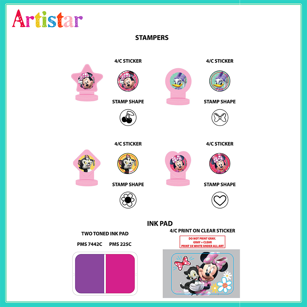 Minnie Stamper Set