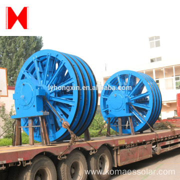 high quality casting lifting rope wheel sheave pulley