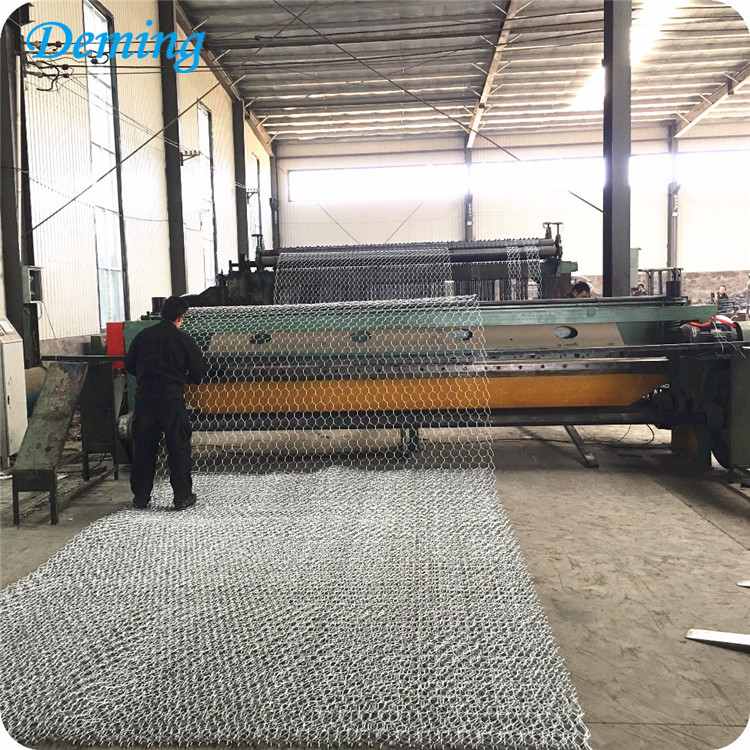 weave galvanized wire mesh gabion box