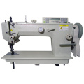 Single Needle Top and Bottom Feed Heavy Duty Lockstitch Sewing Machine