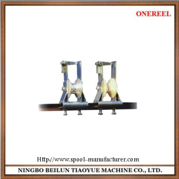 Industrial wire rope pulley wheel