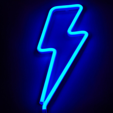 LIGHTNING LED NEON SIGN