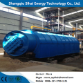 Small pyrolysis machine to fuel oil with 380V