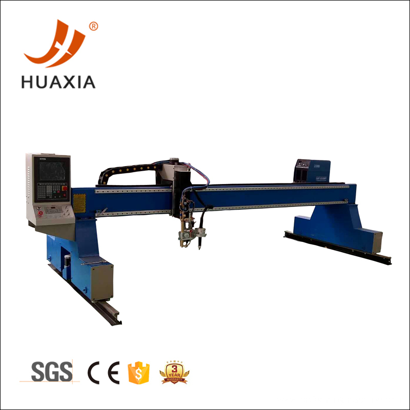 Thick plate gantry cnc flame cutting machine