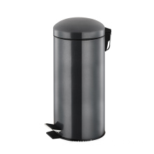 27 Litre Stainless Steel Dome Lid Pedal Bin