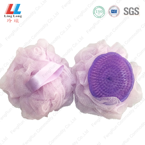 Light durable brush mesh sponge ball