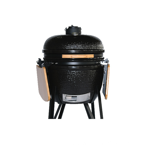 Large Black Egg Ceramic Kamado BBQ Charcoal Grill