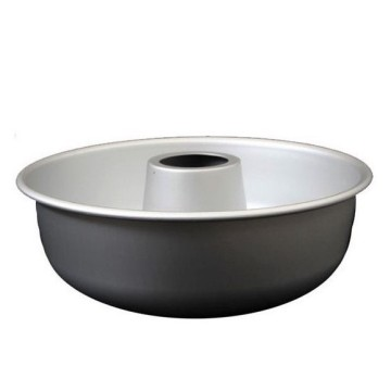 9 Inch Non Stick Angel Food Cake Pan-Black