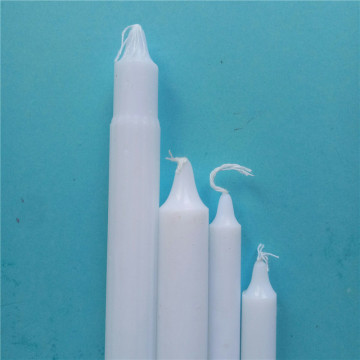 Pure Wax White Candle Decoration Home