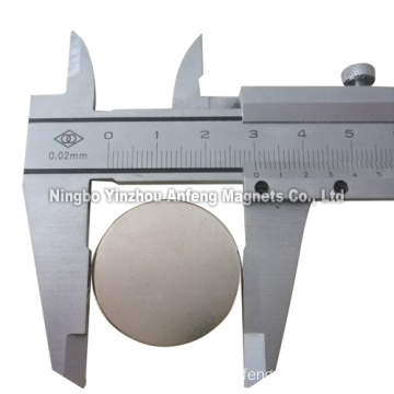 N40 magnetic disc 30*3mm