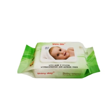 Soft Wet Baby Wipes Natural Baby Wipes